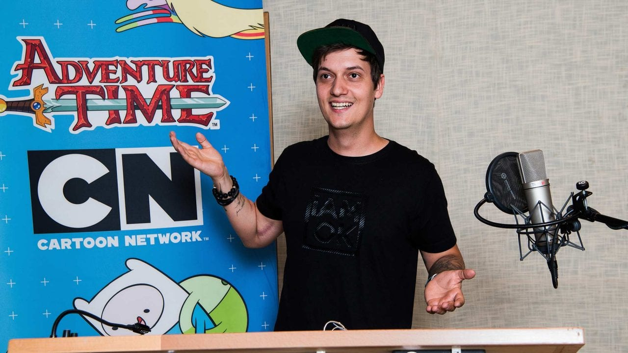 Interview mit LeFloid über seine Sprecherrolle in Adventure Time