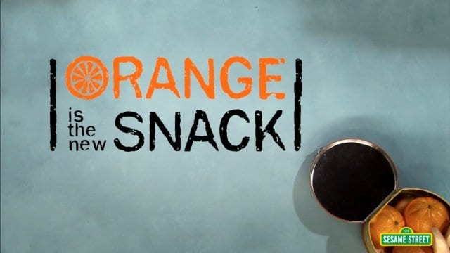 Sesamstraße: Orange Is The New Snack