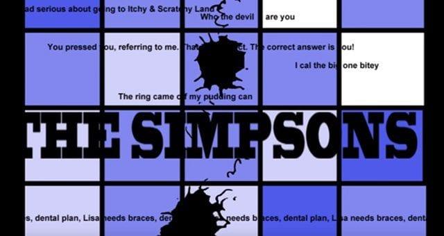 Simpsons Intro im Anime Cowboy Bebop Stil