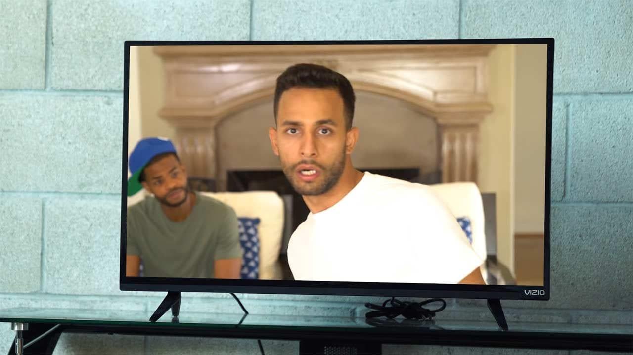 Im Fernseher gefangen