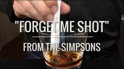 Forget-me-Shot von den Simpsons gemixt