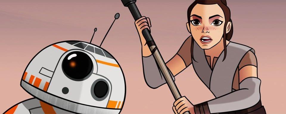 Episode 1 von Star Wars – Forces Of Destiny ist online