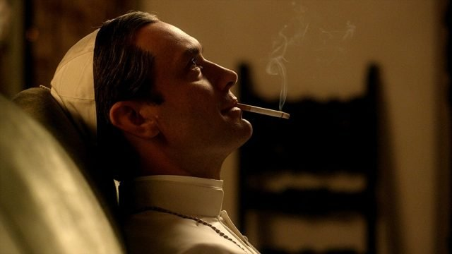 The Young Pope Jude Law Smoking