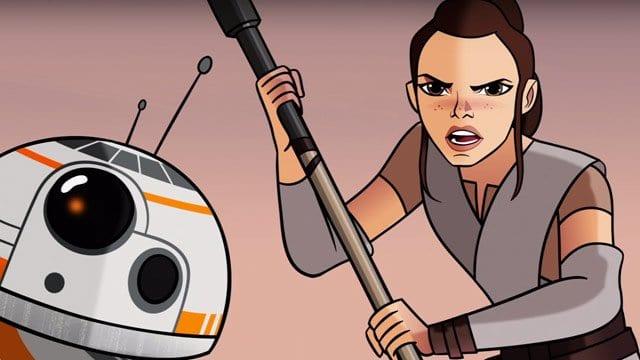 Seht die ersten drei Episoden aus Star Wars: Forces of Destiny