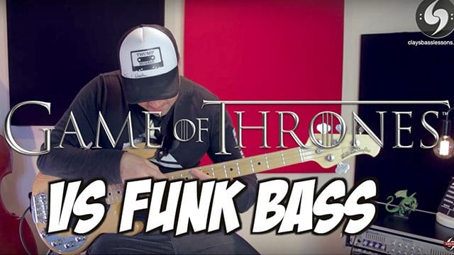 Game of Thrones: Theme mit dem Funk Bass