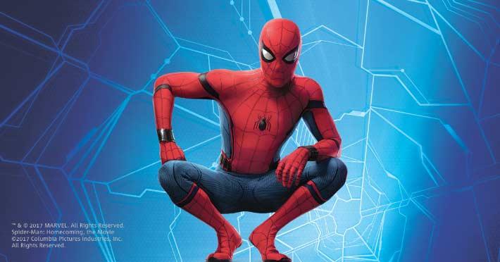 Auch Spider-Man™ bestellt Pizza
