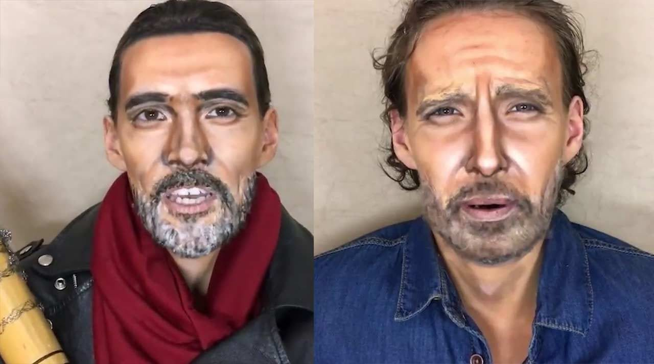 Geniale Make-up-Verwandlungen in The Walking Dead-Figuren