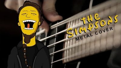 The Simpsons Theme: Heavy Metal Cover