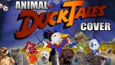 DuckTales Theme von Tieren gesungen