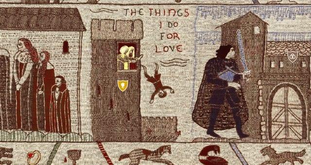 """GoTTeppich01-640x340 """"Game of Thrones"""": Die gesamte Story auf einem Teppich"""