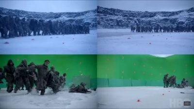 """Game of Thrones S07E06: Making-Of """"The Frozen Lake"""""""