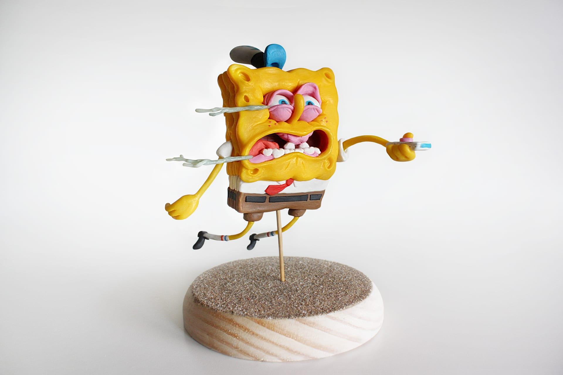 spongebob1 Selbstgemachte SpongeBob Figuren