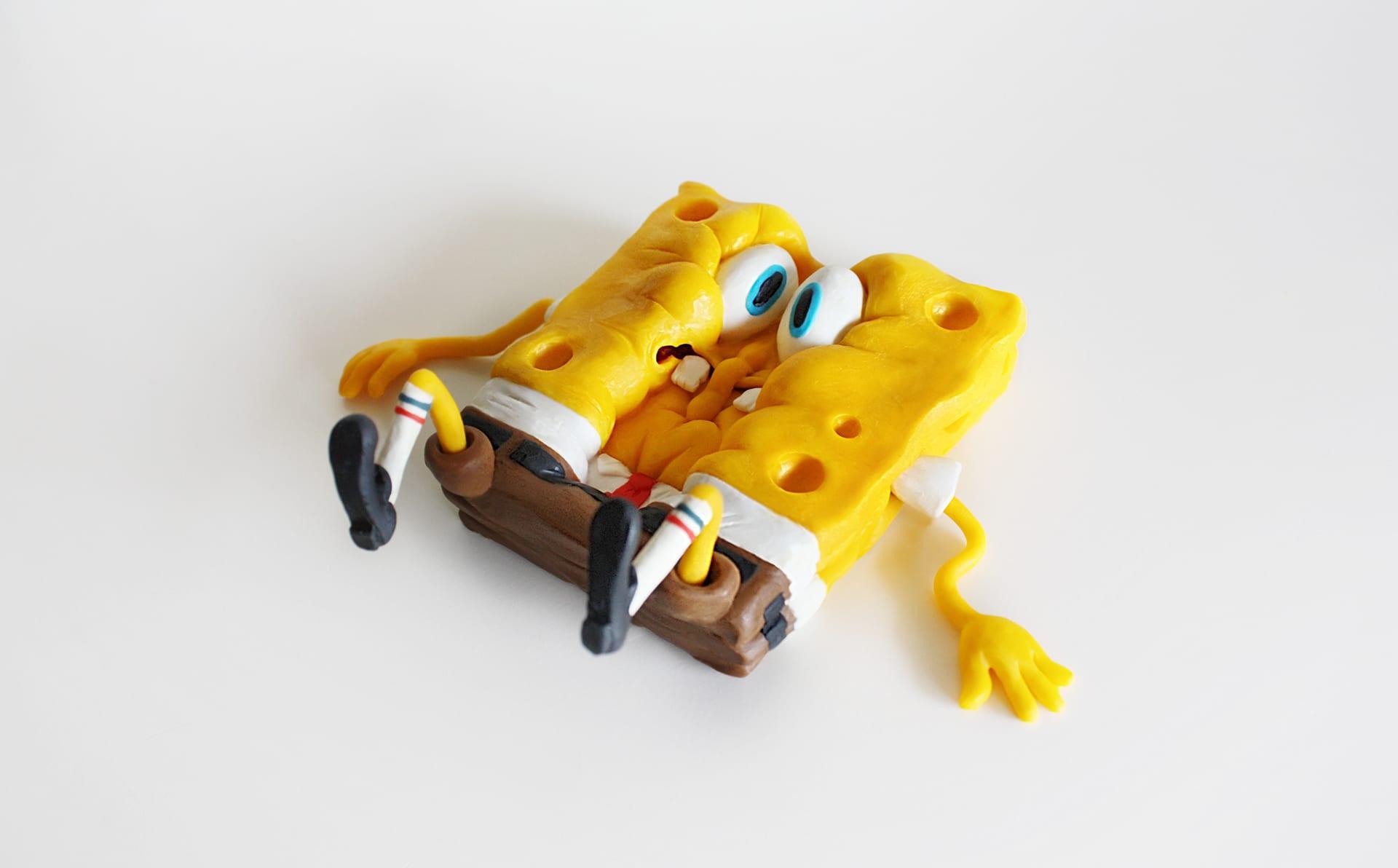 spongebob2 Selbstgemachte SpongeBob Figuren