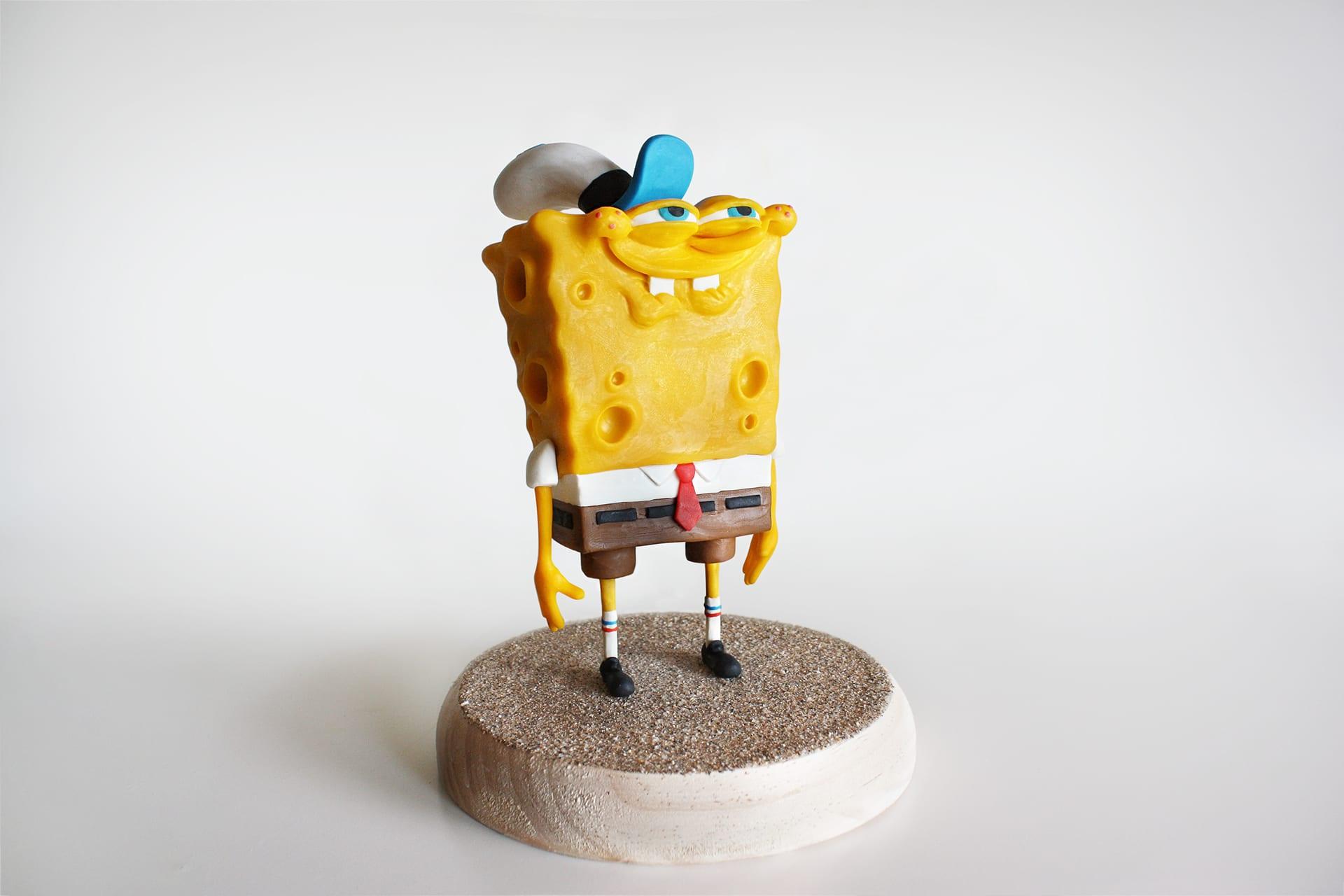 spongebob5 Selbstgemachte SpongeBob Figuren