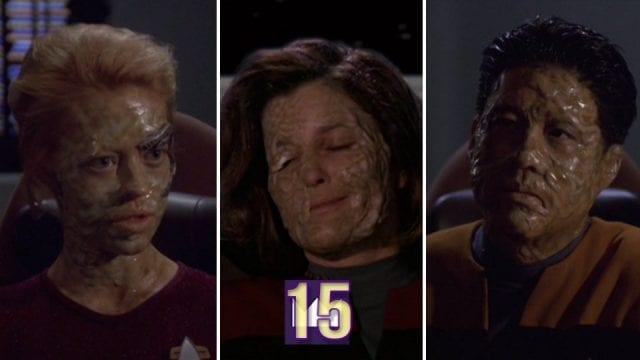 Review: Voyager S05E18 – Course: Oblivion