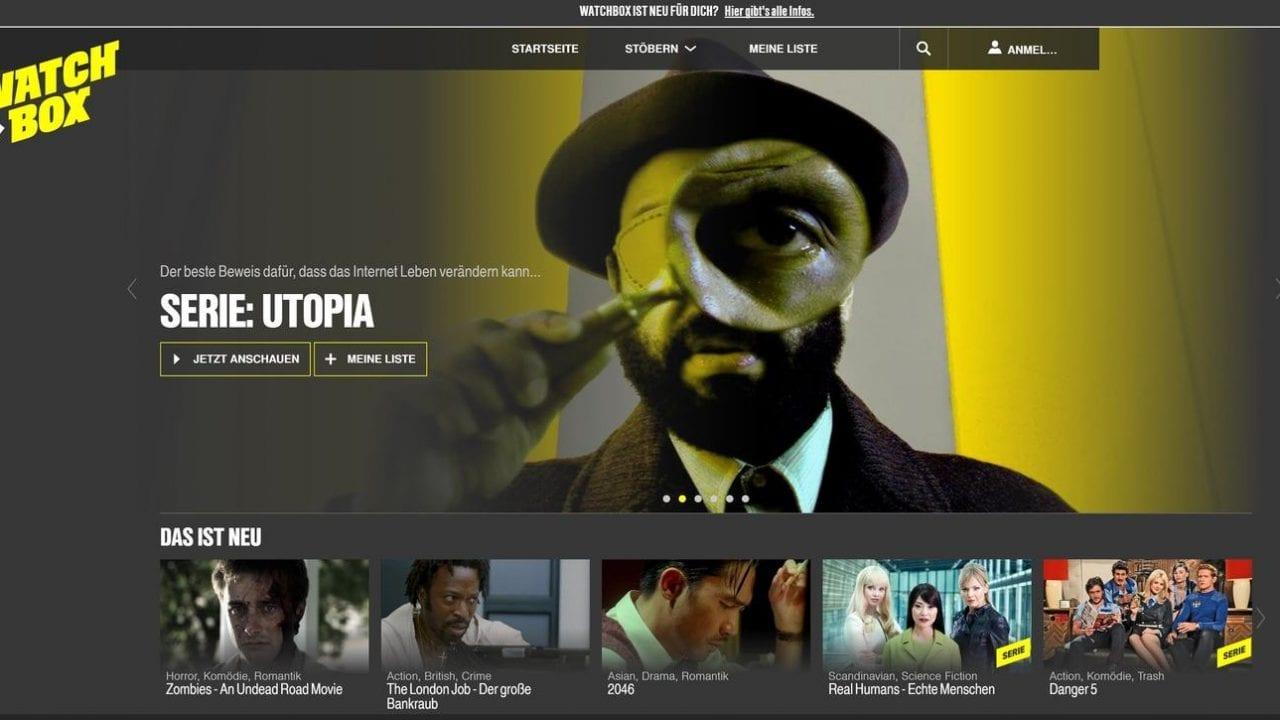 Clipfish wird Watchbox & Utopia kostenlos streamen