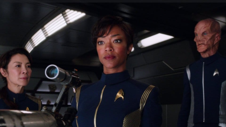 Review: Star Trek Discovery S01E01+02 – The Vulcan Hello / Battle at the Binary Stars