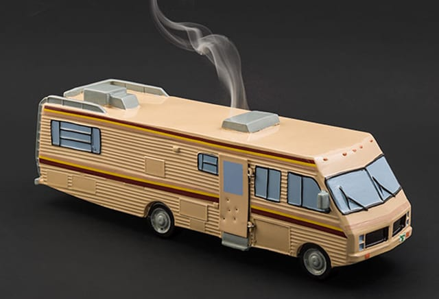 Breaking Bad Camper Burner