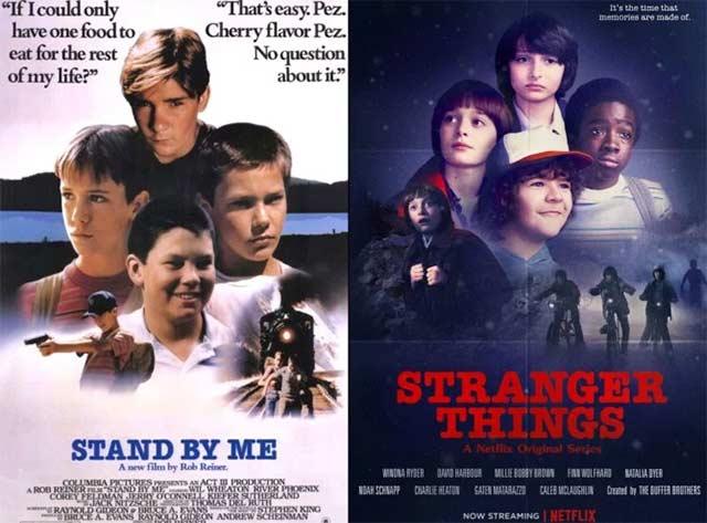 Stranger Things reinszeniert 70er & 80er Filmplakate