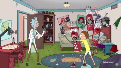 Rick and Morty: Old Spice Werbung