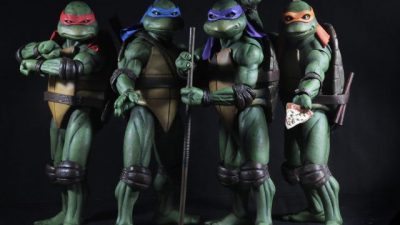Beeindruckende Teenage Mutant Ninja Turtles Sammelfiguren