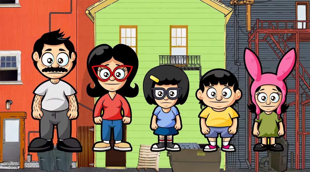 Diese Bob's Burgers-Folge ist ausschließlich mit Fan Art animiert