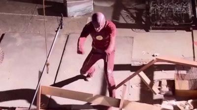 Flash & Supergirl ohne CGI