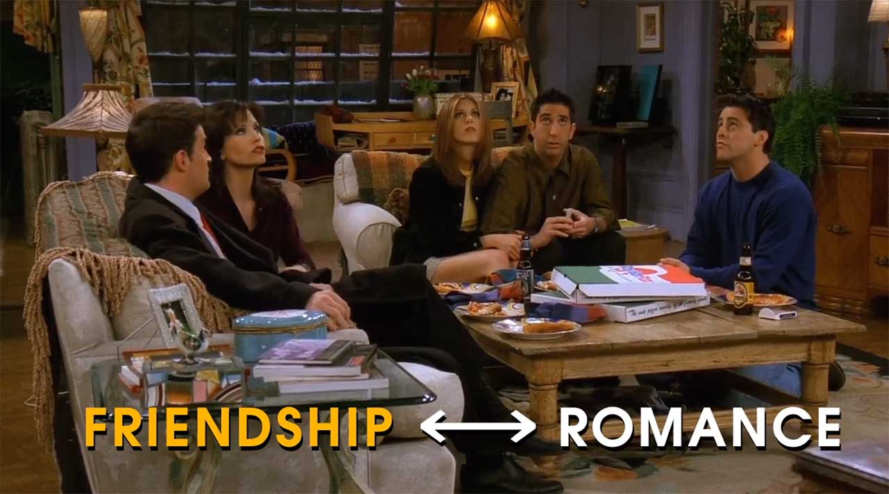 friends-romance Friends: The Romance of Friendship