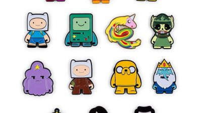 Adventure Time: Kidrobot hat Pins entworfen