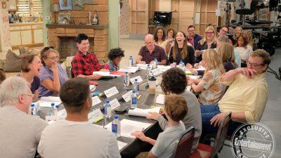Erstes Bild vom Roseanne Revival