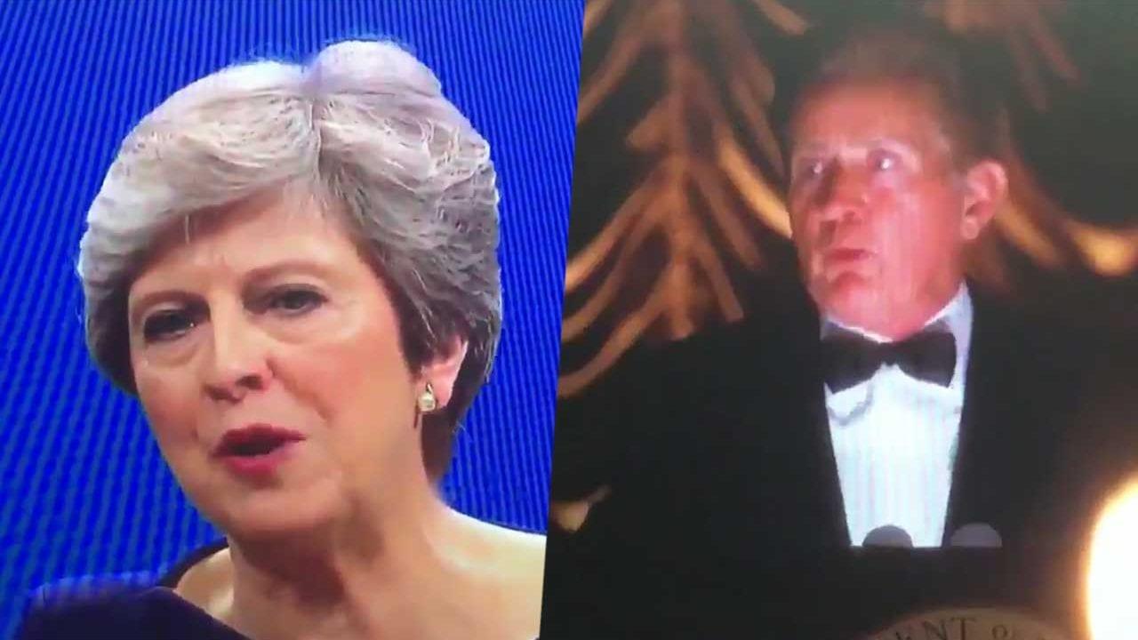 Theresa May hat eine Rede aus The West Wing geklaut
