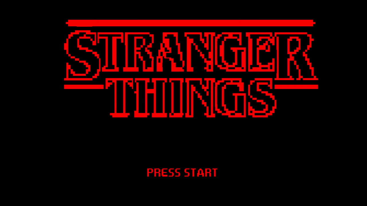 Stranger Things: Erste Staffel als Pixelanimation