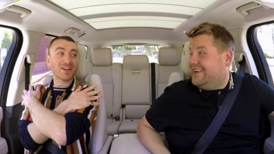 Carpool Karaoke mit Sam Smith & Fifth Harmony