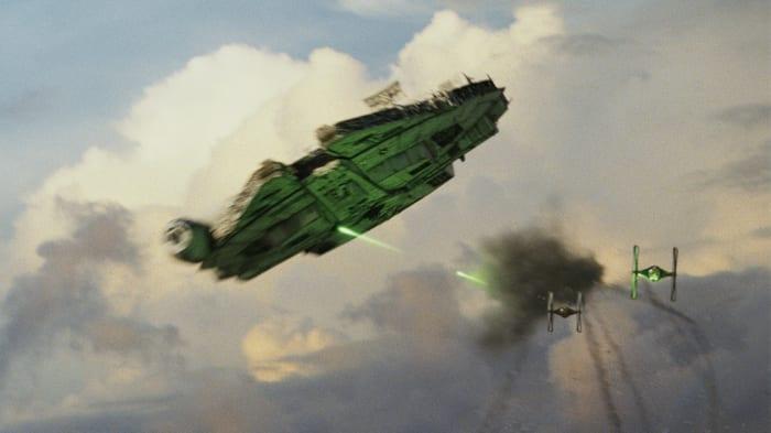 StarWarsMillenniumFalcon Star Wars: Millennium Falcon parkt in London