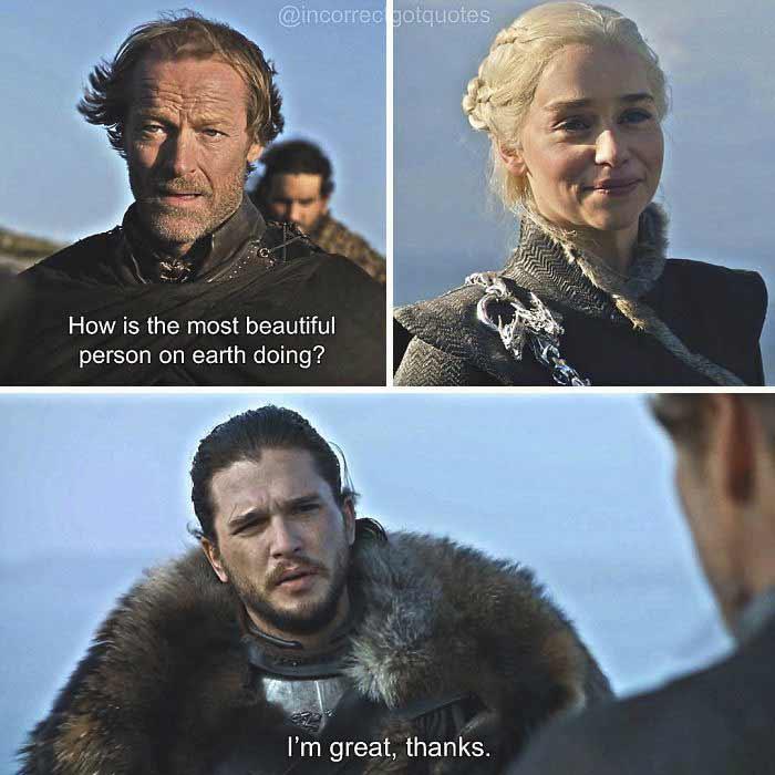 Gefälschte Game of Thrones-Dialoge sind der Knüller
