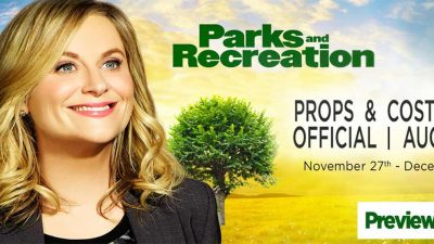 Auktion offizieller Parks and Recreation-Requisiten
