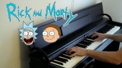 Rick and Morty Piano Medley