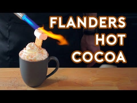 Rezept: Ned Flanders Hot Chocolate