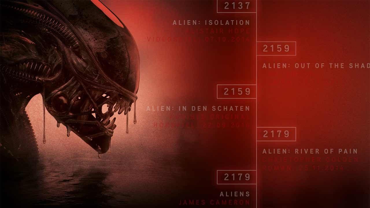 Alien-Timeline: Filme, Bücher und Spiele in der richtigen Reihenfolge