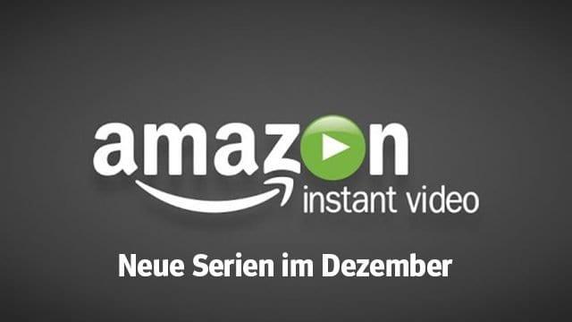 Amazon: die neuen Serien(-Staffeln) im Dezember