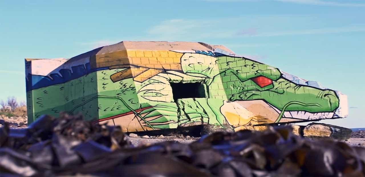 Wie dieses coole Dragon Ball-Mural entstand