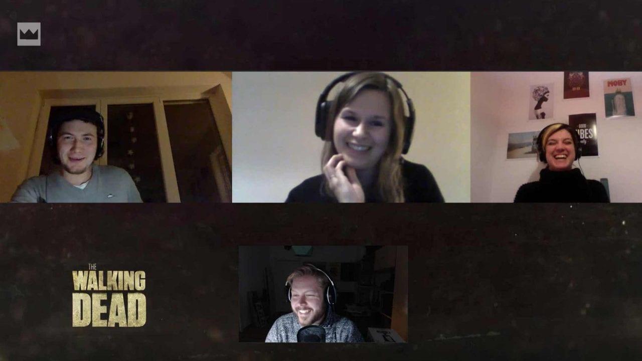 The Talking Dead: Falko, Kira, Jessie und Maik