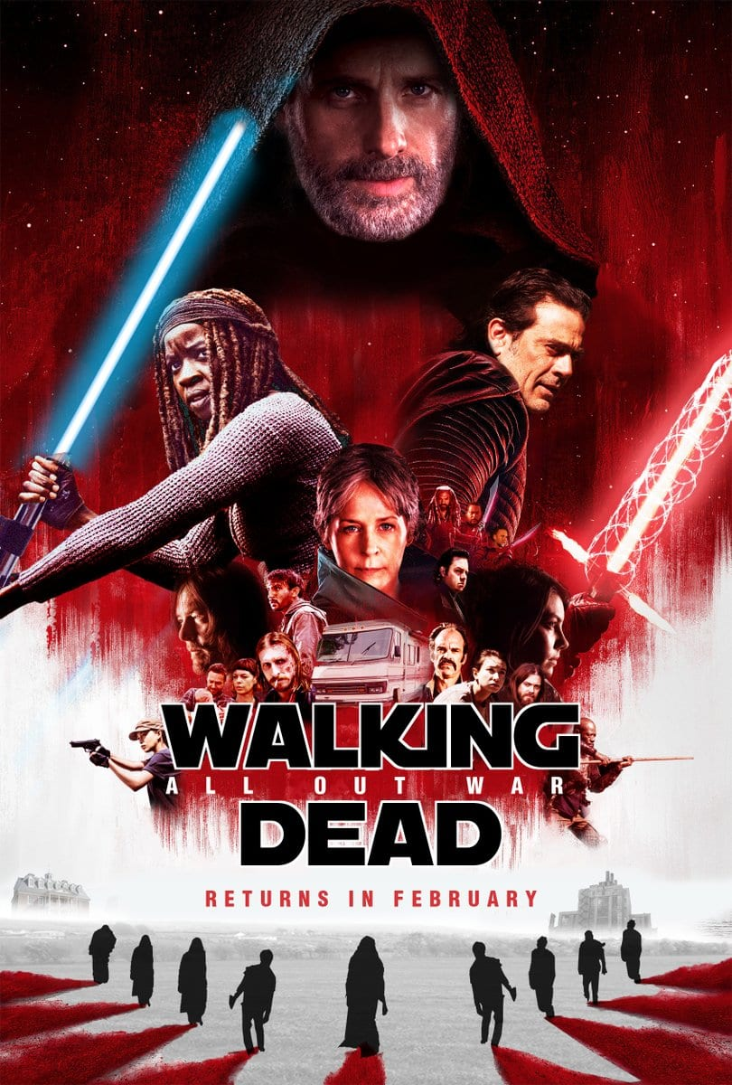 The Walking Dead: Tribut an Star Wars The Last Jedi - Hommage über ...