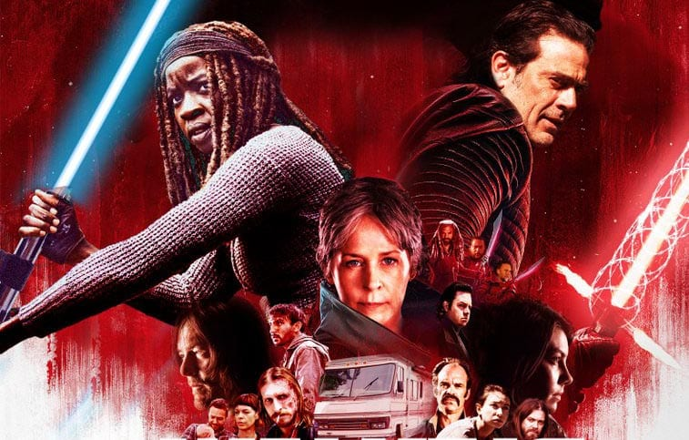 The Walking Dead: Tribut an Star Wars The Last Jedi