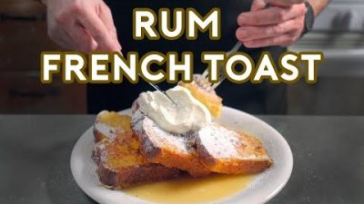 Binging with Babish: Rum French Toast from Mad Men