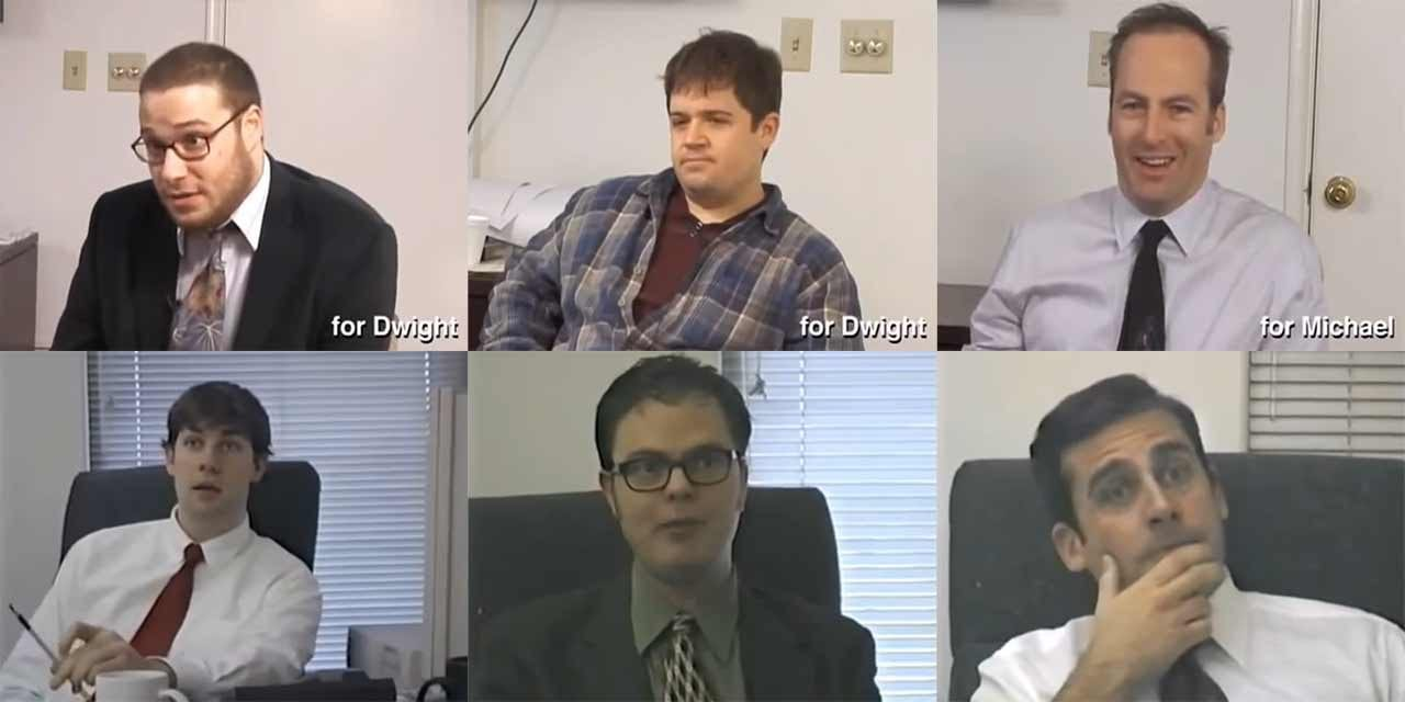 "2003er Vorsprechen-Videos für ""The Office"""