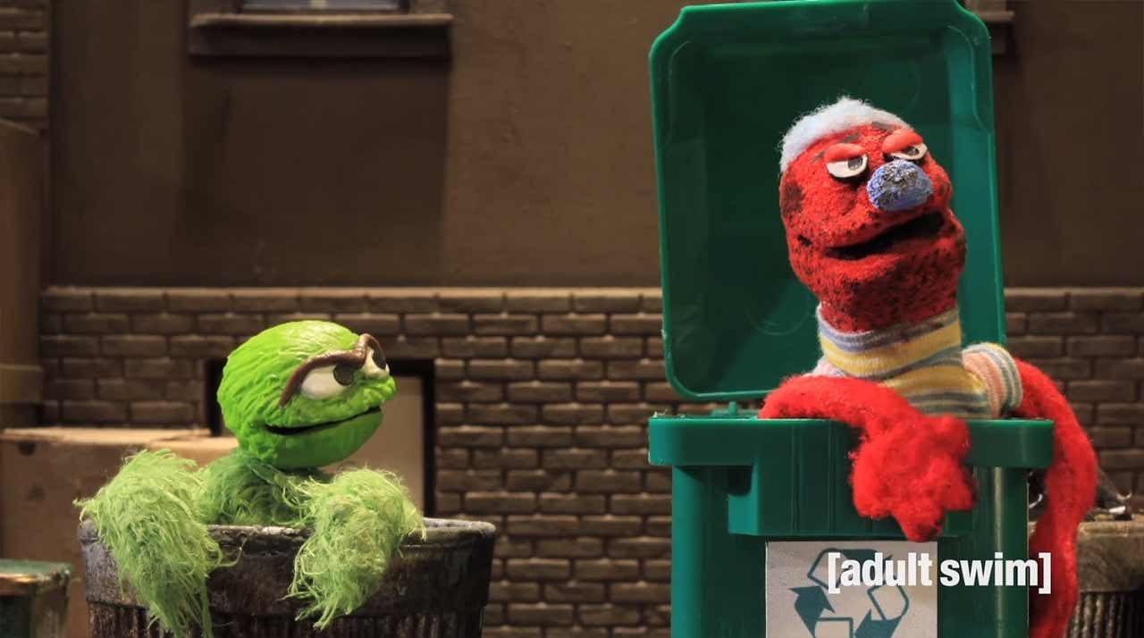 Robot Chicken veräppelt die Sesamstraße