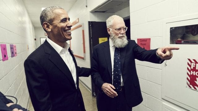 Review: My next guest needs no introduction – with David Letterman & Barack Obama