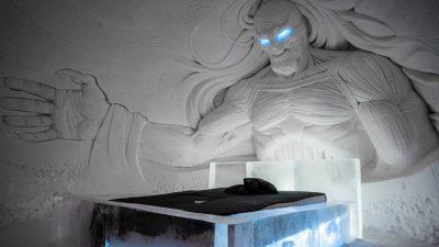 Das Game of Thrones Eis-Hotel hat eröffnet