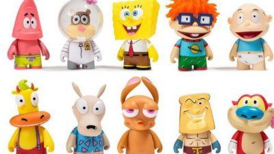 90s Nickelodeon Figuren
